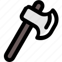 forest, hatchet, outdoor, tool, wildlife icon