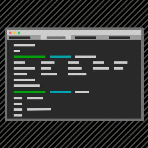 command line, console, developer, iterm, linux, screenshot, terminal icon