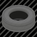 cartoon, drive, isometric, logo, object, road, tyre