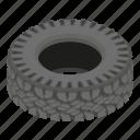 cartoon, isometric, logo, motoring, object, road, tyre