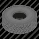 cartoon, isometric, logo, object, road, rubber, tyre