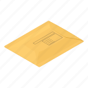 box, cover, isometric, logo, object, package, parcel