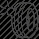 bubble, problem, tire, tyre, wheel icon
