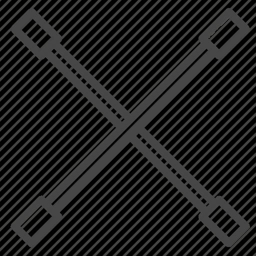 garage, iron, part, tire, wheel icon