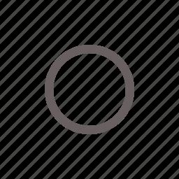 button, off, radio, toggle icon