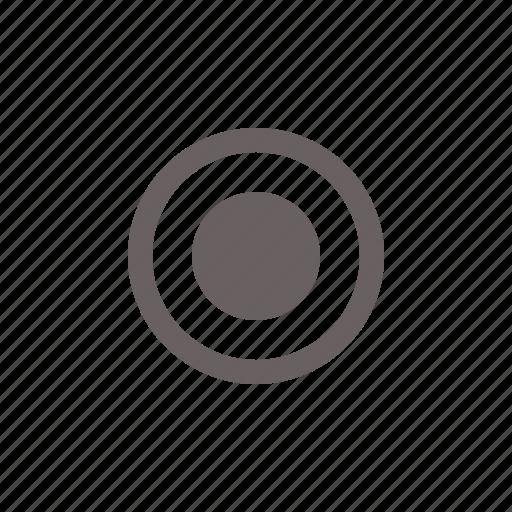 Button, circle, on, radio, round, toggle icon | Icon ...