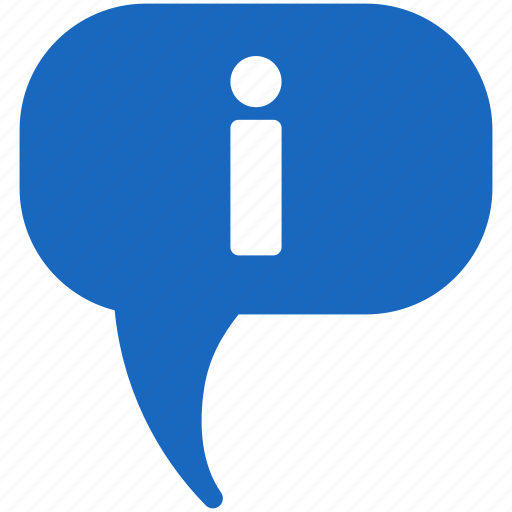 about, comment, hint, info, information, message, status icon