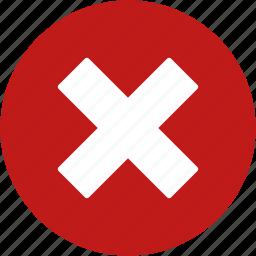 cancel, close, delete, eraser, exit, remove, trash icon