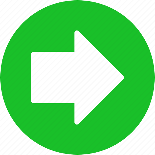 arrow, following, forward, move, next, right, shift icon