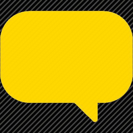 bubble, chat, comment, communication, hint, message, talk icon
