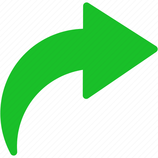arrow, forward, next, redo, repeat, rotate right, rotation icon