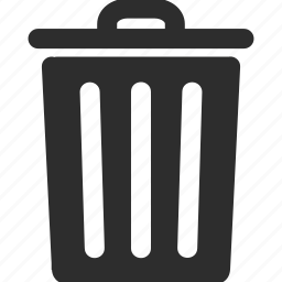 basket, clear, delete, eraser, recycle bin, remove, trash icon