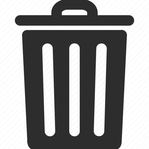 basket, clear, delete, eraser, recycle bin, remove, trash icon