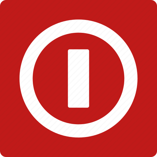 battery, electric, power button, start, stop, switch, turn off icon