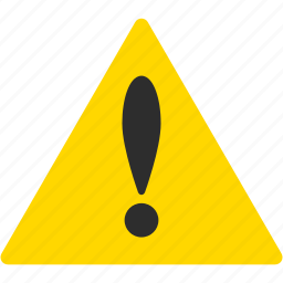alarm, attention, caution, danger, exclamation, problem, warning icon