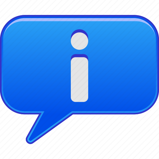 about, bubble, help, hint, info, information, message icon