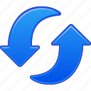 arrows, refresh, reload, repeat, rotation, sync, update icon