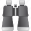 binocular optics, binoculars, find, search, spy glasses, view, zoom icon