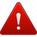 alarm, alert, attention, beware, caution, danger, error icon