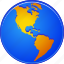 earth, geography, global map, globe, planet, web, world icon
