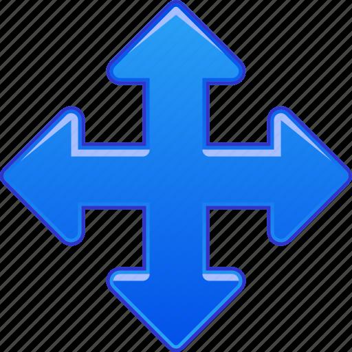 arrow, arrows, cursor, direction, move, pan, shift icon