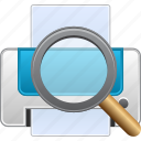 find, print preview, printer, printing, search, view file, viewer