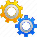 configuration, desktop settings, gears, industry, software, support, tools