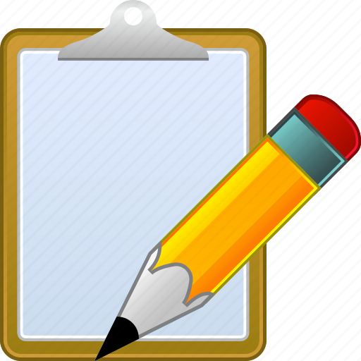 business, edit, note, office, paper, task, write icon