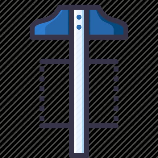 angle, compass, geometry, measure, square, tool, tsquare icon