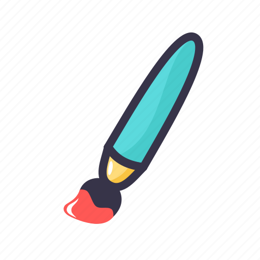 art, brush, color, coloring, paint, painting, tool icon