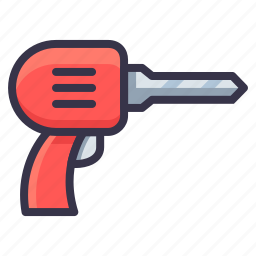 drill, drilling, equipment, job, screwdriver, tool, work icon