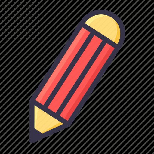 draw, job, pen, pencil, stationary, tool, write icon