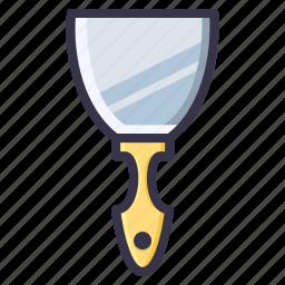 build, digging, job, shovel, tool, trowel icon