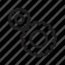 tool, equipment, gear, cog, system