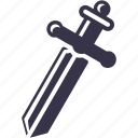 coop, knight, blade, cross, game, sword, battle icon