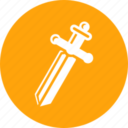 battle, blade, coop, cross, game, knight, sword icon