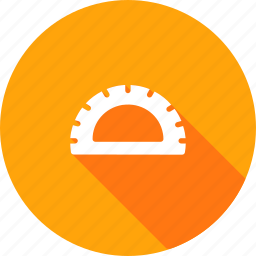 angle, compass, drawing, geometry, mathematics, measure, tool icon
