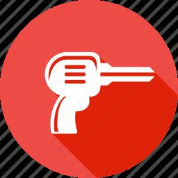 drill, drilling, equipment, job, screwdriver, tool, work icon