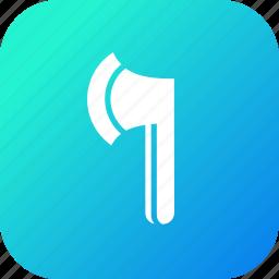 axe, battle, chop, hatchet, tool, weapon, wood icon