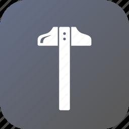 angle, compass, geometry, measure, tool, tsquare icon