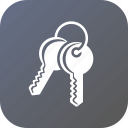 access, entry, key, keys, lock, open, unlock icon