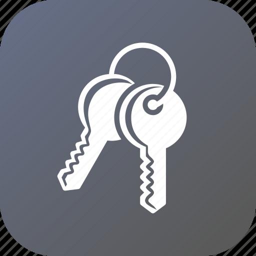 access, entry, key, keys, lock, open, unlock icon