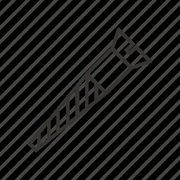 bolt, equipment, repair, screw, tool icon