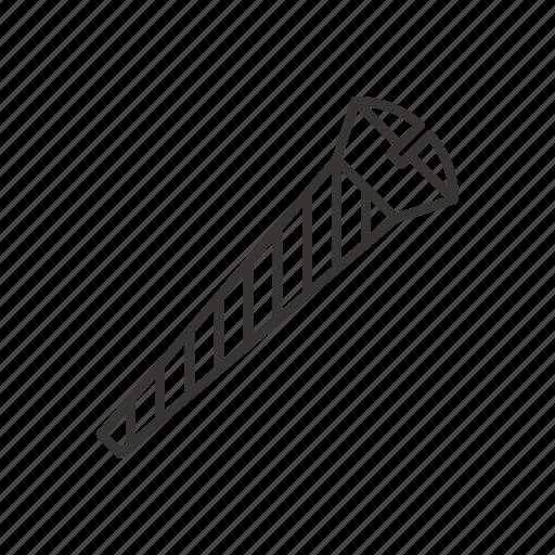 bolt, repair, screw, tool icon