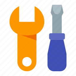 diy, options, repair, screwdriver, settings, tools, wrench icon