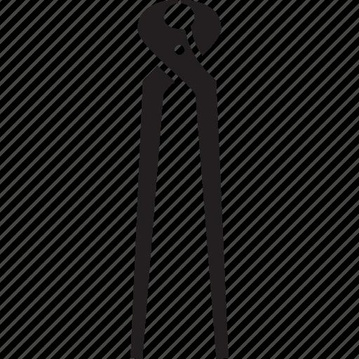 forceps, metal, nail, tool icon