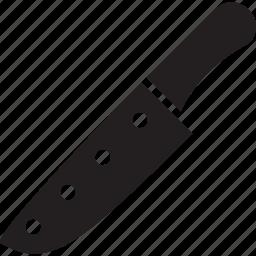 cut, dangerous, kill, kitchen, knife, tool icon