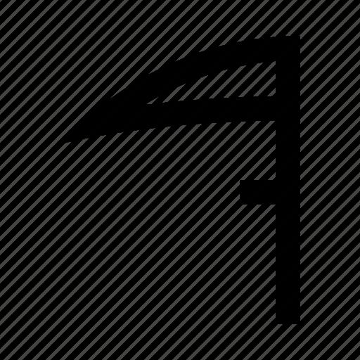 death, garden, scythe, tool icon