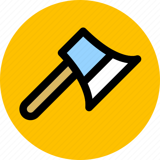 axe, construction, design, tool icon