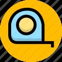 design, measure, size, tool icon